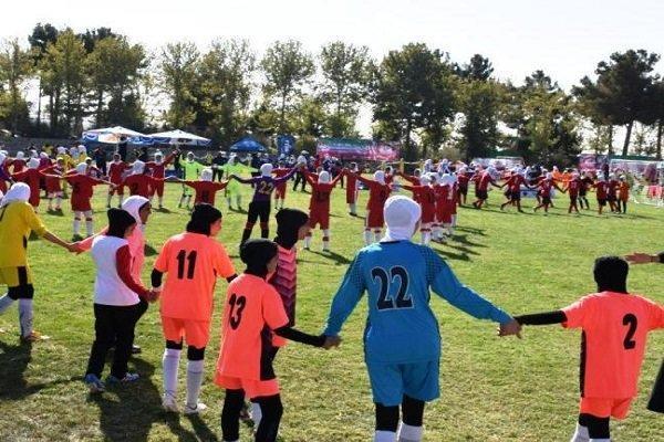 اختتامیه چهارمین جشنواره ملی فوتبال پایه دختران برگزار گردید