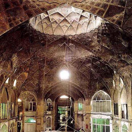 اتمام مرمت بازار توپخانه کرمانشاه پس از 10 سال