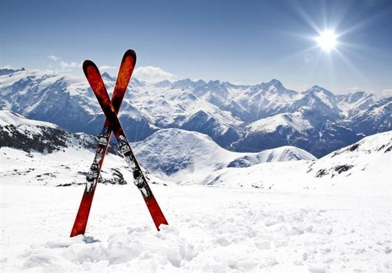 فرود نافرجام یک اسکی باز