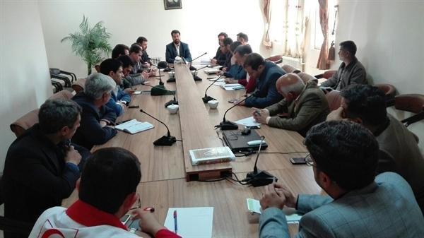 جلسه ستاد اجرایی خدمات سفر شهر صاحب در استان کردستان برگزار گشت
