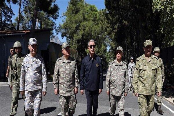 آنکارا: حضور نظامیانمان در قبرس برای حفظ حقوق ما ضروری است