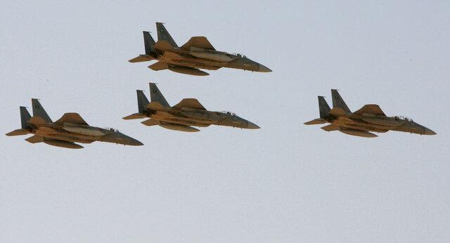 صنعا زیر آتش جنگنده های ائتلاف سعودی