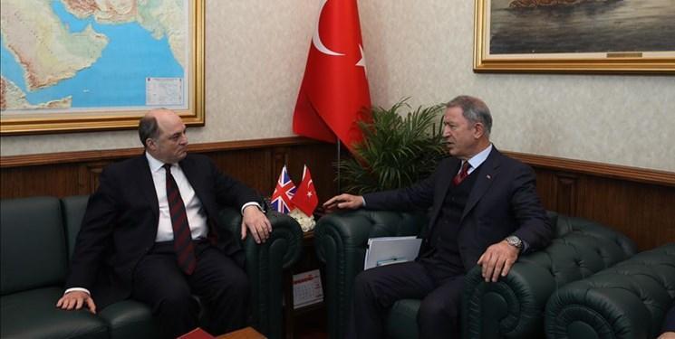 وزرای دفاع ترکیه و انگلیس درباره ادلب ملاقات کردند